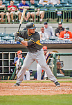 22 March 2015: Pittsburgh Pirates infielder Deibinson Romero in Spring Training action against the Houston Astros at Osceola County Stadium in Kissimmee, Florida. The Astros defeated the Pirates 14-2 in Grapefruit League play. Mandatory Credit: Ed Wolfstein Photo *** RAW (NEF) Image File Available ***