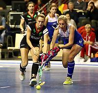 Cecile Pieper, Marcia VENTER /   /        /   <br /> / Sport / Hockey Hnhockey / World Championships Weltmeisterschaft Damen /  2017/2018 / 07.02.2018 / GER BRGermany vs. Namibia  *** Local Caption *** © pixathlon<br /> Contact: +49-40-22 63 02 60 , info@pixathlon.de