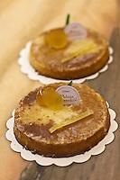 Europe/France/Provence-Alpes-Côte d'Azur/06/Alpes-Maritimes/Antibes: Mentonnais , Gâteau au citron de Christian Lutzelschwab, pâtissier- Au Palais des Friandises