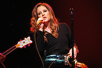 ATLANTIC CITY, NJ - NOVEMBER 10 :  Lisa Marie Presley performing at Trump Taj Mahal in Atlantic City, New Jersey on November 10, 2012  © Star Shooter / MediaPunch Inc /NortePhoto
