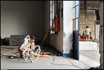 Zorkmade inizia i lavori installativi di trasformazione di BUNKER, Il nuovo progetto di Urbe nell'ex stabilimento SICMA Torino. Luglio 2012