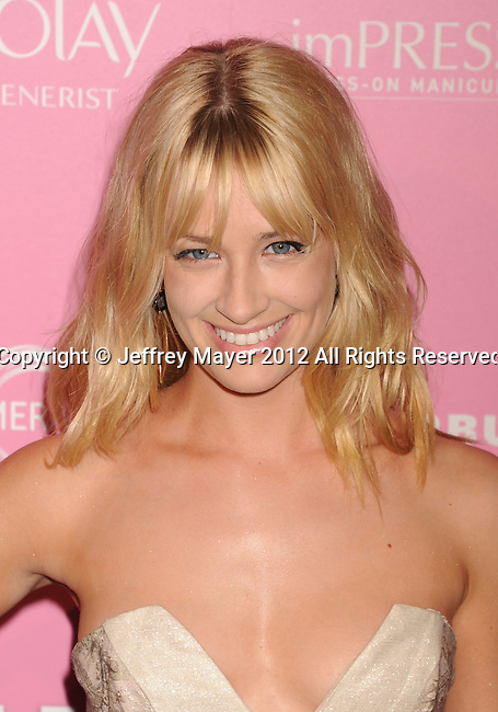 WEST HOLLYWOOD, CA - APRIL 18: Beth Behrs attends Us Weekly's Hot Hollywood 2012 Style Issue Event at Greystone Manor Supperclub on April 18, 2012 in West Hollywood, California.