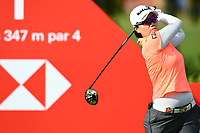 SINGAPORE - MARCH 02: Jeong Eun Lee of South Korea on the 1st tee during the third round of the HSBC Women's World Championship 2019 at Sentosa Golf Club - Tanjong Course, Singapore on March 02, 2019.<br /> .<br /> .<br /> .<br /> (Photo by: Naratip Golf Srisupab/SEALs Sports Images)<br /> .<br /> Any image use must include a mandatory credit line adjacent to the content which should read: Naratip Golf Srisupab/SEALs Sports Images