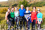 l-r Ciara O'Leary, Marie, Michelle and Mike Devane, Phil Newby, Noreen O'Leary and Maureen Beecher from Kilcummin pictured at the 14th Annual MS Old Kenmare Road Walk last Sunday morning.
