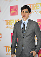 Harry Shum Jr. at the 2014 TrevorLIVE Los Angeles Gala at the Hollywood Palladium.<br /> December 7, 2014  Los Angeles, CA<br /> Picture: Paul Smith / Featureflash