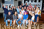 Darren Coaklin Killarney seated centre celebrated his birthday with his family and friends in the Ktown bar on Friday night