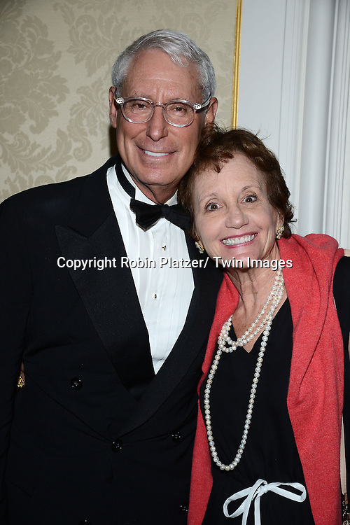 Henry Schleiff  and wife Peggy attend the Museum of the Moving Image Gala honoring Abbe Raven and Thomas Rutledge on May 22, 2013 at the St Regis Hotel in New York City.