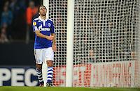 FUSSBALL   EUROPA LEAGUE   SAISON 2011/2012  SECHZEHNTELFINALE FC Schalke 04 - FC Viktoria Pilsen                          23.02.2012 Raul (FC Schalke 04)
