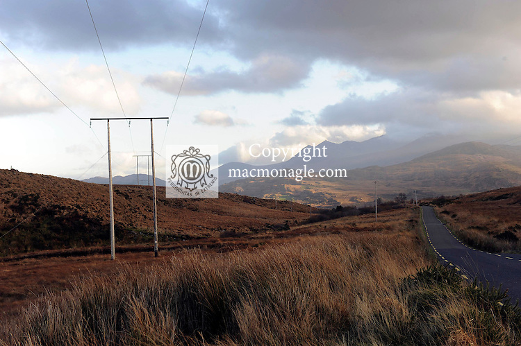 The Ballaghisheen Pass, Glencar County Kerry..Picture by Don MacMonagle