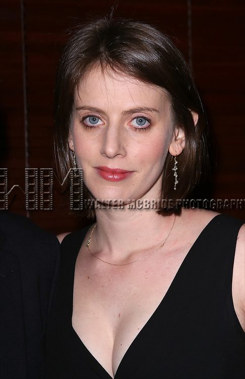 Amy Herzog  attends the Broadway Opening Night Performance After Party for 'The Realistic Joneses'  at the The Red Eye Grill on April 6, 2014 in New York City.