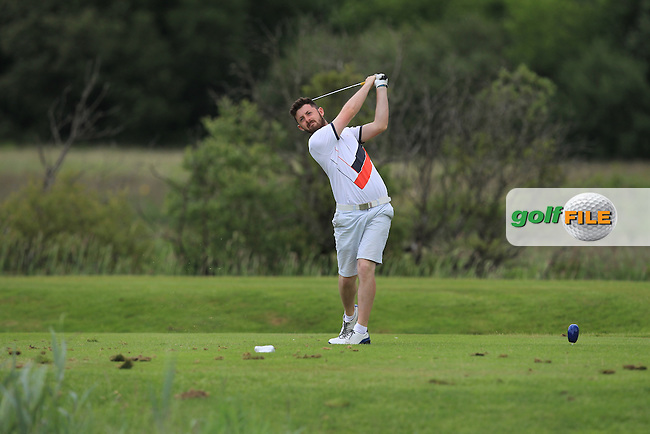 Liam Grehan (Mullingar) on the 6th tee during Round 4 of the 2016 Connacht Strokeplay Championship at Athlone Golf Club on Sunday 12th June 2016.<br /> Picture:  Golffile | Thos Caffrey