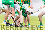 Kilmoyley in action against Daniel O'Carroll Ballyduff in the County Senior Hurling Final at Austin Stack Park on Sunday.
