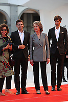 Charlotte Rampling and Andrea Pallaoro arrive the Award Ceremony of the 74th Venice Film Festival at Sala Grande on September 9, 2017 in Venice, Italy.<br /> CAP/GOL<br /> &copy;GOL/Capital Pictures