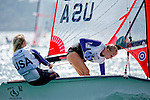 United States	29er	Women	Crew	USAET35	Liza	Toppa<br /> United States	29er	Women	Helm	USAAT40	Alie	Toppa<br /> Day1, 2015 Youth Sailing World Championships,<br /> Langkawi, Malaysia