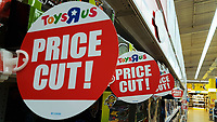 2018 02 28 Toys R Us under administration, Swansea, Wales, UK
