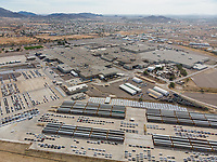 Aerial view of the Ford Motor Company automotive company in the Hermosillo industrial park. Automotive industry.<br /> Hermosillo Stamping and Assembly is an automobile assembly plant of Ford Motor Company located in Hermosillo, Sonora, Mexico. The plant currently assembles the Ford Fusion and Lincoln MKZ, Lincoln models for the North American market. Ford is an American multinational automaker<br /> .<br /> Photo: (NortePhoto / LuisGutierrez)<br /> ...<br /> keywords: dji, aerial, djimavic, mavicair, aerial photo, aerial photography, urban landscape, aerial photography, aerial photo, urban, urban, urban, plane, architecture, architecture, design, architectural, architectural, city, city, capital, Daylight, day, Auto, auto, Cars, Cars, automotive, Ford, Ford, Figo, Fiesta, Focus, Fusion, Mustang, maquiladora, industry, car, cars, transportation, Ferromex, industrial park, wagons, railway, railways , Mexican railroads, Automobile industry, Business, Finance and Industry, Finance and economy, Land vehicle, Motor vehicle, Car factory, Ford Edge, Fleet of vehicles, Ford - Car make, car<br /> <br /> <br /> <br />  a&eacute;rea de la empresa automotriz Ford Motor Company  en el parque industrial de Hermosillo. Industria Automotriz. <br /> Hermosillo Stamping and Assembly es una planta de ensamblaje de autom&oacute;viles de Ford Motor Company localizada en Hermosillo, Sonora, M&eacute;xico. La planta actualmente ensambla los modelos Ford Fusion y Lincoln MKZ, Lincoln para el mercado de Am&eacute;rica del Norte. Ford is an American multinational automaker<br /> .<br /> Photo: (NortePhoto / LuisGutierrez)<br /> ...<br /> keywords: dji, a&eacute;rea, djimavic, mavicair, aerial photo, aerial photography, Paisaje urbano, fotografia a&eacute;rea, foto a&eacute;rea, urban&iacute;stico, urbano, urban, plano, arquitectura, arquitectura, dise&ntilde;o, dise&ntilde;o arquitect&oacute;nico, arquitect&oacute;nico, urbe, ciudad, capital, luz de dia, dia , Auto, auto, Autos, Autos, automotriz , Ford, Ford, Figo, Fiesta, Focus, Fusion, Mustang, maquiladora, industria, carro, carros, transporte, Ferromex,  parque industrial, vagones, ferrocar