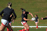 Laura Russell warms up for the 2017 International Women's Rugby Series rugby match between Canada and Australia Wallaroos at Smallbone Park in Rotorua, New Zealand on Saturday, 17 June 2017. Photo: Dave Lintott / lintottphoto.co.nz