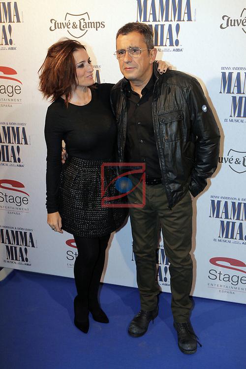 Premiere Mamma Mia! Barcelona.<br /> Silvia Abril &amp; Andreu Buenafuente.