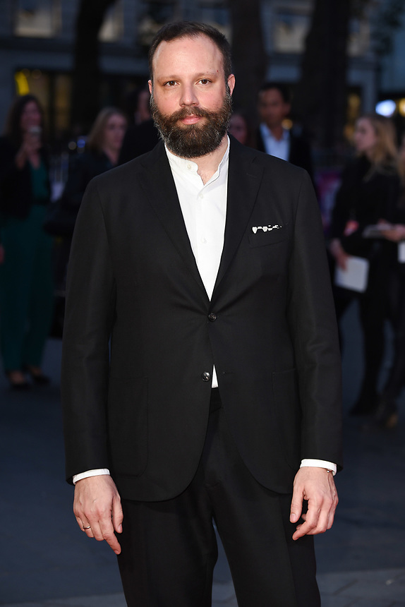 "director, Yorgos Lanthimos<br /> arriving for the London Film Festival 2017 screening of ""Killing of a Sacred Deer"" at Odeon Leicester Square, London<br /> <br /> <br /> ©Ash Knotek  D3332  12/10/2017"