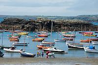 Porth Diana, Trearddur Bay, Anglesey, Wales.