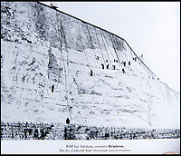 BNPS.co.uk (01202 558833)<br /> Pic: PhilYeomans/BNPS<br /> <br /> Saltdean cliffs were recorded.<br /> <br /> Chilling - Hitlers 'How to' guide to the invasion of Britain.<br /> <br /> A remarkably detailed invasion plan pack of Britain has been unearthed to reveal how our genteel seaside resorts would have been in the front line had Hitler got his way in World War Two.<br /> <br /> The Operation Sea Lion documents, which were issued to German military headquarters' on August 1, 1940, contain numerous maps and photos of every town on the south coast.<br /> <br /> They provide a chilling reminder of how well prepared a German invading force would have been had the Luftwaffe not been rebuffed by The Few in the Battle of Britain.<br /> <br /> There is a large selection of black and white photos of seaside resorts and notable landmarks stretching all the way from Land's End in Cornwall to Broadstairs in Kent.<br /> <br /> The pack also features a map of Hastings, raising the possibility that a second battle could have been staged there, almost 900 years after the invading William The Conqueror triumphed in 1066.