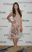 BEVERLY HILLS, CA - JANUARY 10: Nina Dobrev arrives at the Forevermark And InStyle Golden Globes Event at Beverly Hills Hotel on January 10, 2012 in Beverly Hills, California.