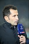 20.02.2018, Allianz Arena, München, GER, UEFA CL, FC Bayern München (GER) vs Besiktas Istanbul (TR) , im Bild<br />Sportdirektor Hasan Salihamidzic (München)<br /><br /><br /> Foto © nordphoto / Bratic