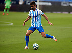 Adrian Gonzalez (Malaga CF) controls the ball during La Liga Smartbank match round 39 between Malaga CF and RC Deportivo de la Coruna at La Rosaleda Stadium in Malaga, Spain, as the season resumed following a three-month absence due to the novel coronavirus COVID-19 pandemic. Jul 03, 2020. (ALTERPHOTOS/Manu R.B.)