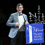 Daniel N. Durant during the 74th Annual Theatre World Awards at Circle in the Square on June 4, 2018 in New York City.