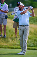 Thomas Aiken (RSA) watches his tee shot on 12 during Thursday's round 1 of the 117th U.S. Open, at Erin Hills, Erin, Wisconsin. 6/15/2017.<br /> Picture: Golffile | Ken Murray<br /> <br /> <br /> All photo usage must carry mandatory copyright credit (&copy; Golffile | Ken Murray)
