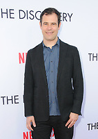 "29 March 2017 - Los Angeles, California - Alex Orlovsky.  Premiere Of Netflix's ""The Discovery"" held at The Vista Theater in Los Angeles. Photo Credit: Birdie Thompson/AdMedia"