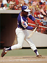 CIRCA 1972: Hank Aaron #44 of the Atlanta Braves bats during a game from his 1972 season. Aaron played 23 seasons, with 2 different teams, was a 25-time All-Star and inducted to the Baseball Hall of Fame in 1982.  (Photo by: 1972  SportPics  )  Hank Aaron