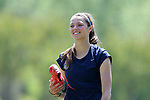 CARY, NC - APRIL 20: Ashley Hatch. The North Carolina Courage held a training session on April 20, 2017, at WakeMed Soccer Park Field 7 in Cary, NC.