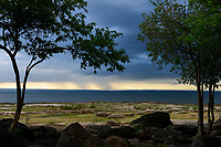 Zambia, Sinazongwe, Kariba reservoir, Zambezi river / SAMBIA, Sinazongwe , Kariba Stausee des aufgestauten Sambesi Fluß