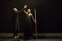 Edinburgh, UK. 19.08.2014.  Akram Khan's GNOSIS opens at the Edinburgh International Festival. Picture shows: Akram Khan and Fang-Yi Sheu. © Jane Hobson.