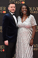 Sharon D Clarke<br /> arriving for the Olivier Awards 2019 at the Royal Albert Hall, London<br /> <br /> ©Ash Knotek  D3492  07/04/2019