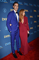 HOLLYWOOD, CA - FEBRUARY 02: Sacha Baron Cohen (L) and Isla Fisher attend the 71st Annual Directors Guild Of America Awards at The Ray Dolby Ballroom at Hollywood &amp; Highland Center on February 02, 2019 in Hollywood, California.<br /> CAP/ROT/TM<br /> &copy;TM/ROT/Capital Pictures