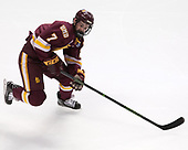 Adam Johnson (UMD - 7) - The University of Denver Pioneers defeated the University of Minnesota Duluth Bulldogs 3-2 to win the national championship on Saturday, April 8, 2017, at the United Center in Chicago, Illinois.