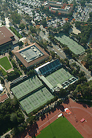 16 November 2005: Photos from the air of the Stanford tennis facilities in Stanford, CA.