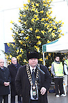Mayor Paul Bell at the Launch of the Rotary Annual Memory Tree...(Photo credit should read Jenny Matthews www.newsfile.ie)....This Picture has been sent you under the conditions enclosed by:.Newsfile Ltd..The Studio,.Millmount Abbey,.Drogheda,.Co Meath..Ireland..Tel: +353(0)41-9871240.Fax: +353(0)41-9871260.GSM: +353(0)86-2500958.email: pictures@newsfile.ie.www.newsfile.ie.