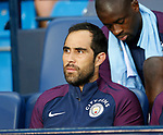 Claudio Bravo of Manchester City starts on the bench during the Premier League match at the Eithad Stadium, Manchester. Picture date 21st August 2017. Picture credit should read: Simon Bellis/Sportimage