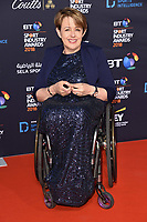 Dame Tanni Grey Thompson arriving for the BT Sport Industry Awards 2018 at the Battersea Evolution, London, UK. <br /> 26 April  2018<br /> Picture: Steve Vas/Featureflash/SilverHub 0208 004 5359 sales@silverhubmedia.com