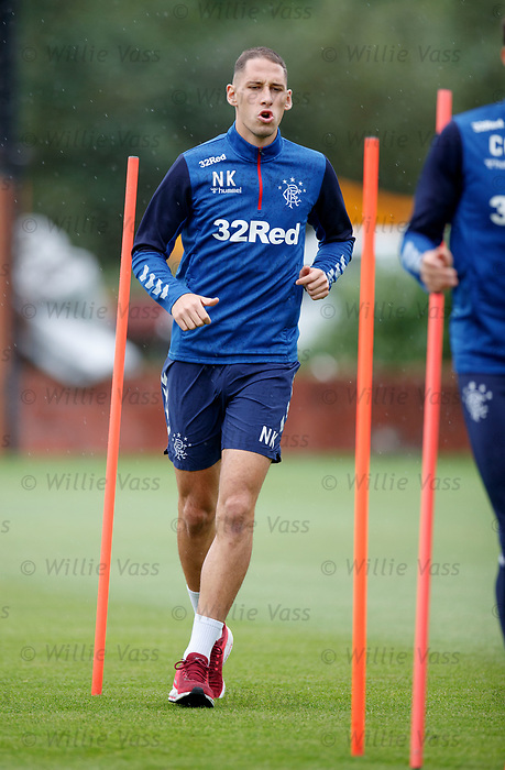 30.08.2019 Rangers training: Nikola Katic