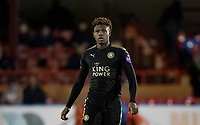 Darnell Johnson of Leicester City U23 during the Under 23 Premier League 2 match between Chelsea U23 and Leicester City U23 at the Electrical Services Stadium, Aldershot, England on 2 February 2018. Photo by Andy Rowland / PRiME Media Images.