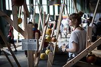Berlin, DMY International Design Festival, am Freitag (07.06.13) in ehemaligen Flughafen Tegel. Festival findet von Mittwoch (05.06.13) bis Sonntag (09.06.13) statt. Foto: Maja Hitij/CommonLens