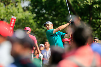 Justin Rose (ENG) on the 3rd tee during the 3rd round at the WGC HSBC Champions 2018, Sheshan Golf CLub, Shanghai, China. 27/10/2018.<br /> Picture Fran Caffrey / Golffile.ie<br /> <br /> All photo usage must carry mandatory copyright credit (&copy; Golffile | Fran Caffrey)