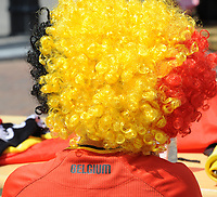 20170720 - BREDA , NETHERLANDS : Belgian pictured during the female soccer game between Norway and Belgium  , the second game in group A at the Women's Euro 2017 , European Championship in The Netherlands 2017 , Thursday 20 th June 2017 at Stadion Rat Verlegh in Breda , The Netherlands PHOTO SPORTPIX.BE | DIRK VUYLSTEKE
