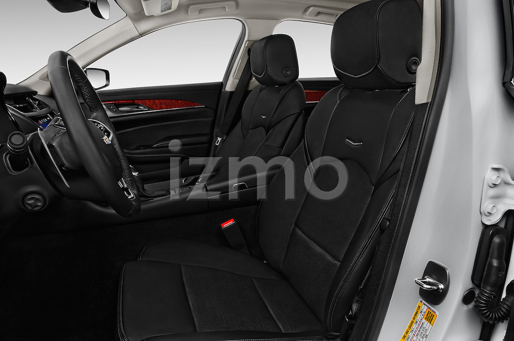 Front seat view of 2016 Cadillac CTS Luxury Collection 4 Door sedan Front Seat  car photos
