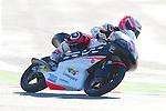 Gran Premio TIM di San Marino during the moto world championship in Misano.<br /> 13-09-2014 in Misano world circuit Marco Simoncelli.<br /> Moto3<br /> ana carrasco<br /> PHOTOCALL3000