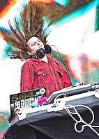 DJ Quickie Mart playing at Voodoo Fest 2011 in New Orleans, LA.